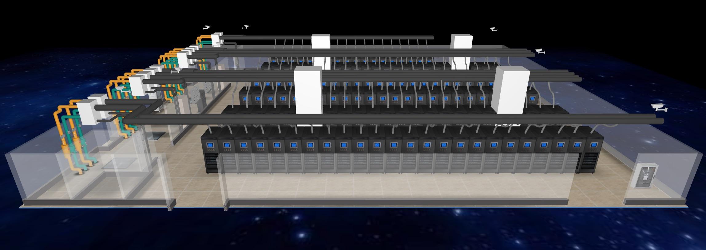 3D机房动环监控系统