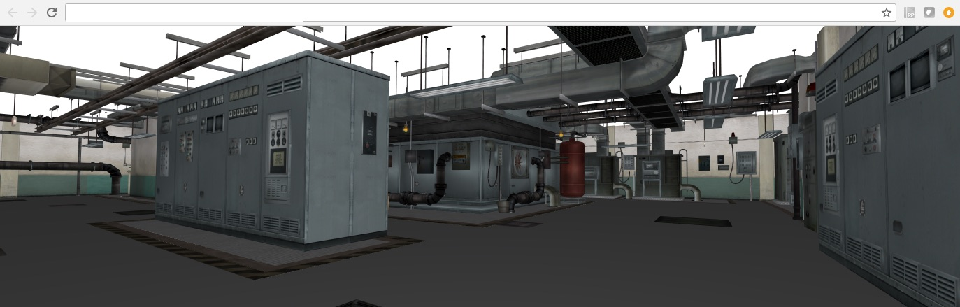 3D机房建模